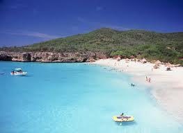 Strand, zonvakantie Curaçao