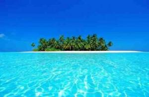 Onbewoond eiland Malediven