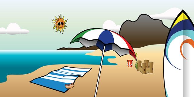 Zonvakantie eiland strand