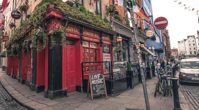 Café bar Dublin Ierland centrum